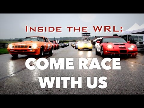 Inside the WRL: Come Race With Us