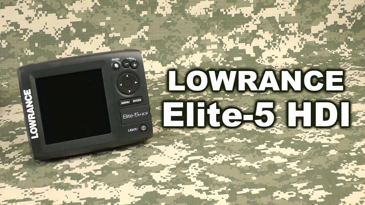 Новое обновление для Lowrance Elite Ti, HDS Carbon и HDS Gen3