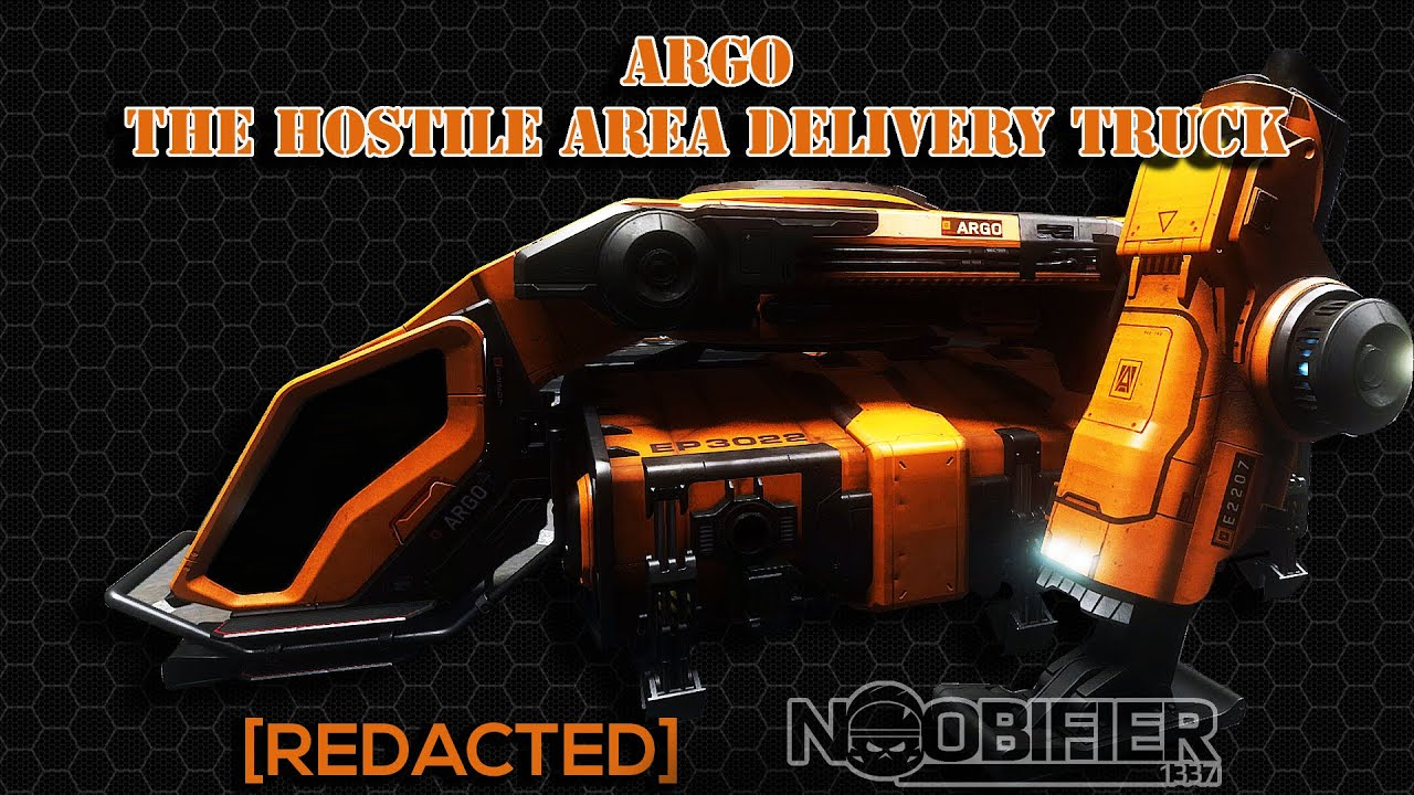 ARGO - THE HOSTILE AREA DELIVERY TRUCK (CONTEST AT END)