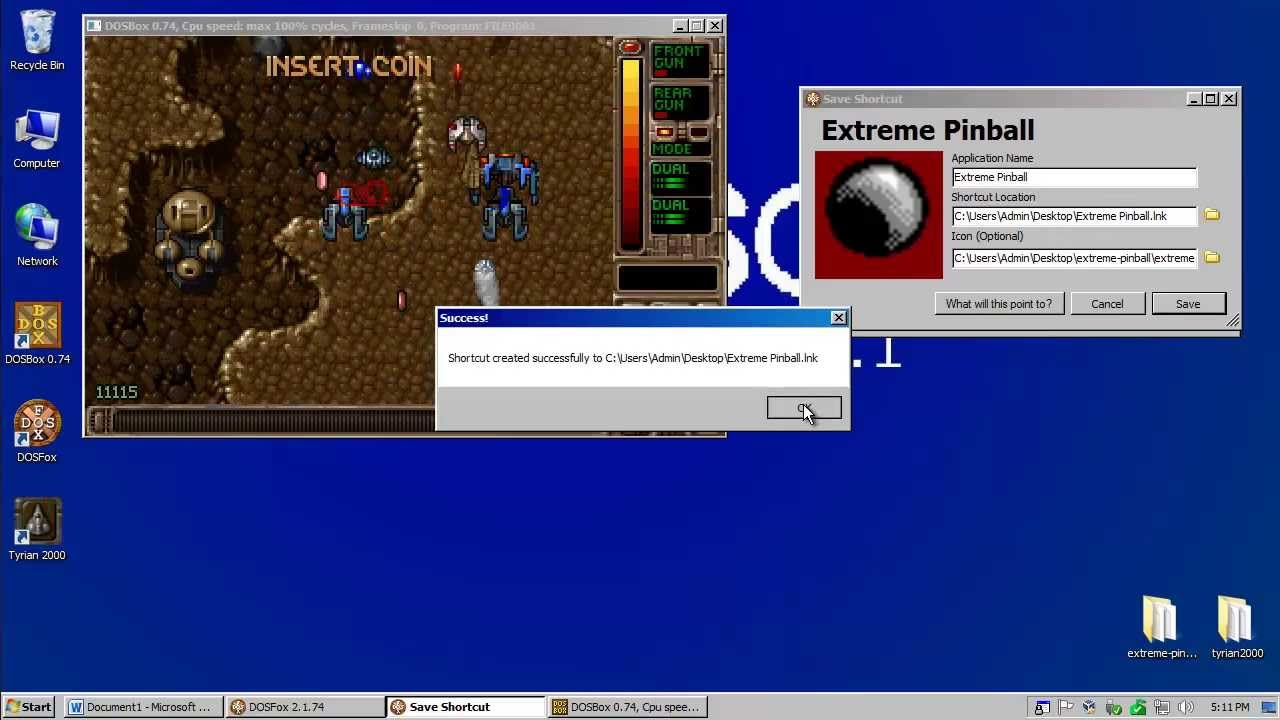 Dosfox Demo And Tutorial Dosbox Front End Youtube