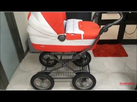Коляска 3 в 1 Inglesina Otutto (на шасси Ergo Bike) - YouTube