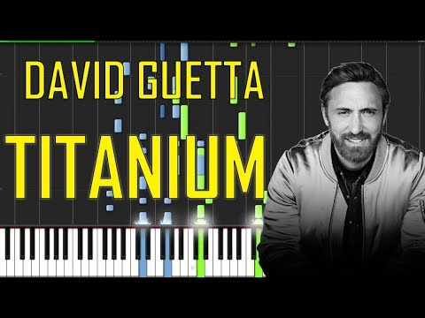 David Guetta Titanium Piano Tutorial Chords How To Play
