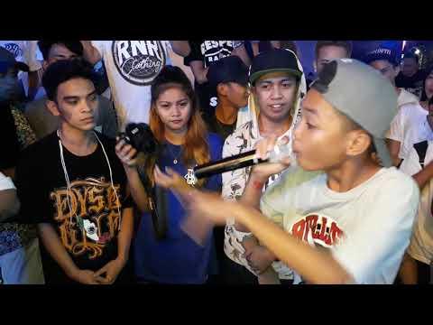 Laglagan Rap Battle League - Clark Vs Rusty J ( BEERANDA BAR MUSIC ALABANG )
