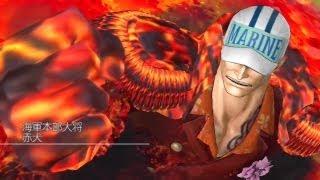 ワンピース 海賊無双 赤犬vs青キジ「相容れぬ2つの正義」 thumbnail