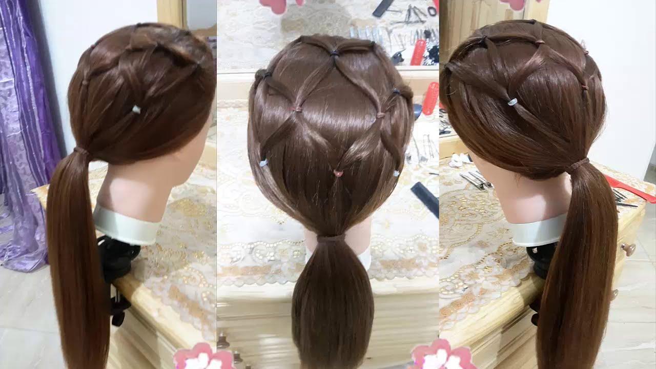 peinados de araña faciles para cabello largo y bonitos para niña para la escuela 2016