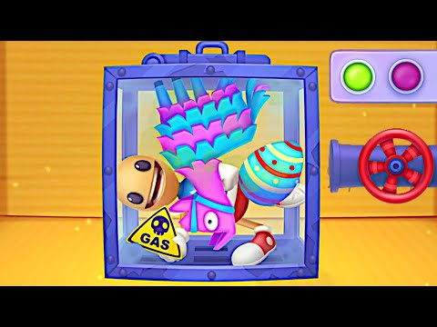 Surprise EGG Candy Pinata Buddy in The GAS Chamber | kick the Buddy: Forever