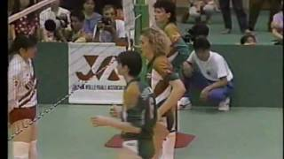 Volleyball - 1991 Japan vs USSR Toyohashi Japan Part3/4