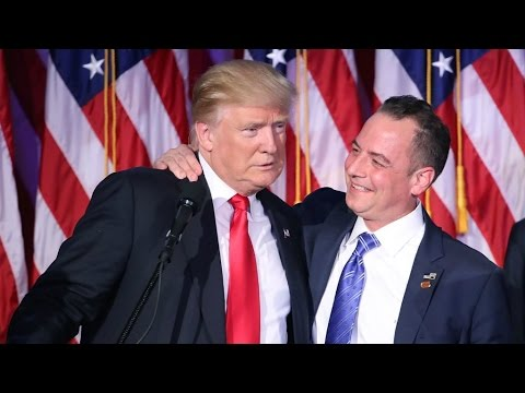 US - President-elect Donald Trump selects Priebus as White House chief of staff