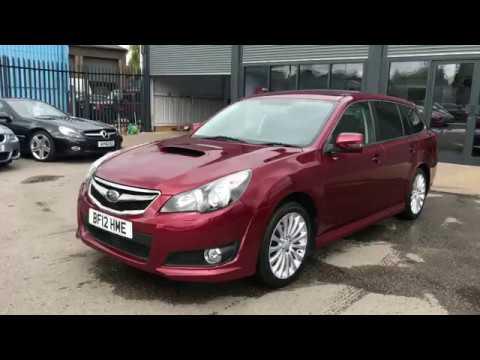 Subaru Legacy 20 D Se Sports Tourer 5dr Youtube