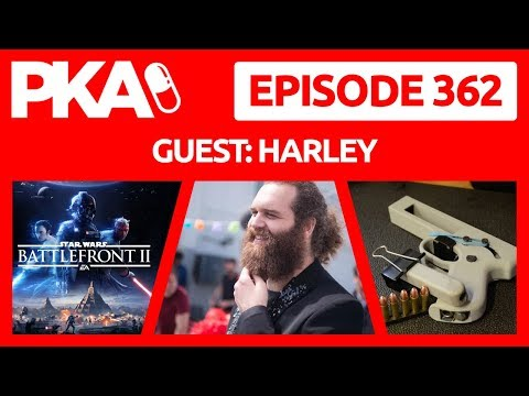 PKA 362 W/Harley - Bitcoin & Cryptocurrency, EA Is Greedy, Stomach Parasite