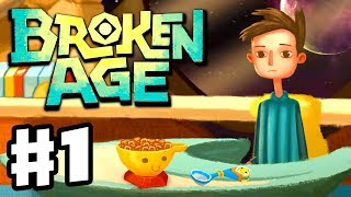 Broken Age - Gameplay Walkthrough Part 1 - Shay and His Spaceship (PC, iOS, Android)