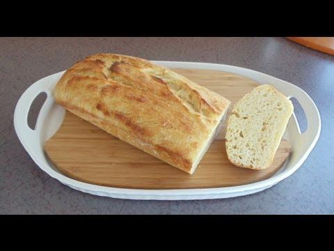 No-Knead Artisan Buttermilk Bread (Easy... No Mixer... No Yeast Proofing)