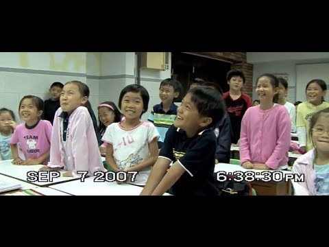 Teaching Beginner Children English in Taipei Taiwan - Lesson 1 - Part 1