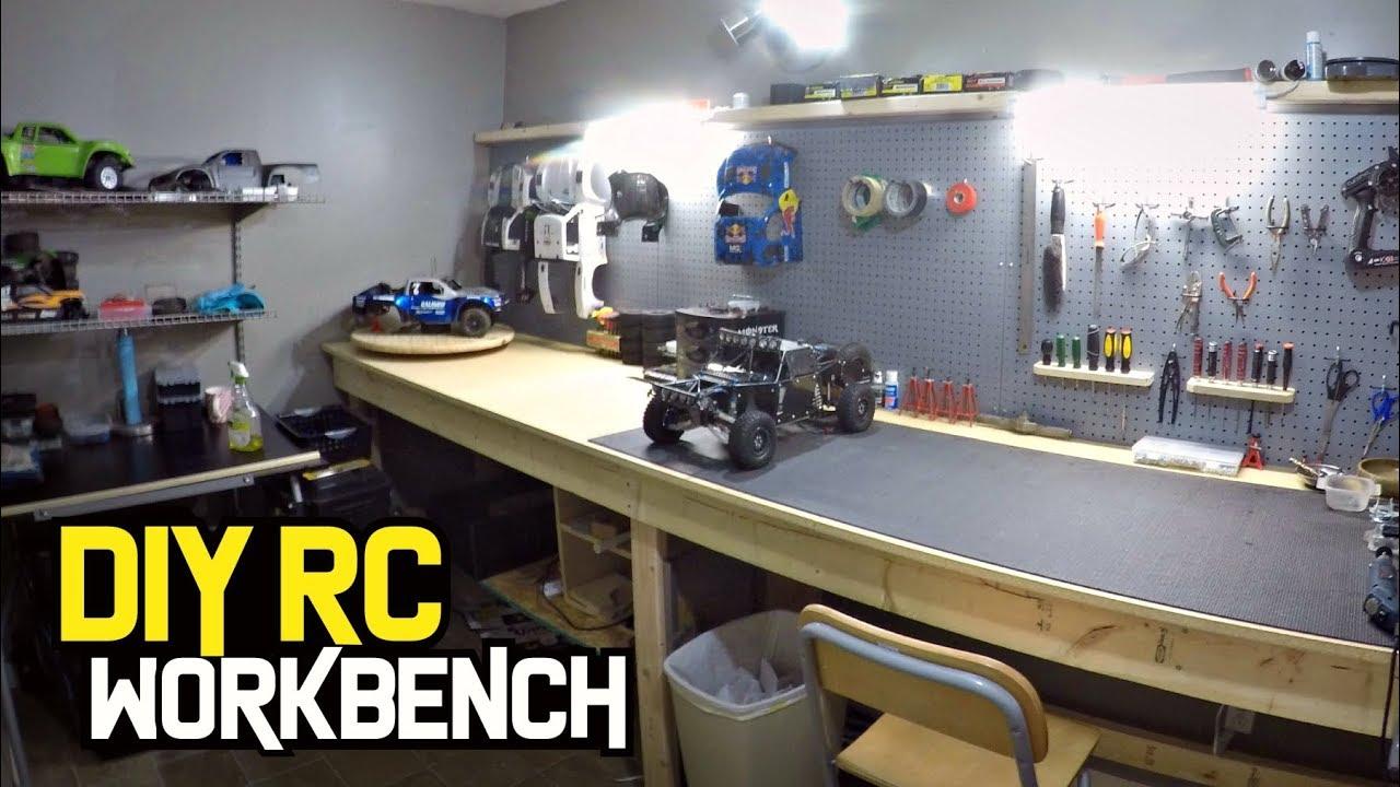 Ultimate Diy Rc Workbench Youtube
