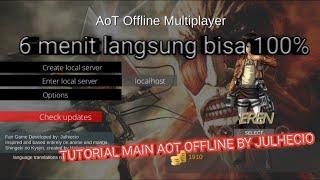 Tutorial Main Game Aot Offline V.02 Langsung Bisa