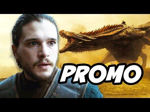 Game Of Thrones Season 7 Promo Breakdown - Daenerys Dragons and Jon Snow