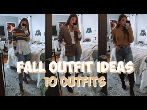 [VIDEO] – FALL/AUTUMN OUTFIT IDEAS   Same Jeans, 10 Looks   MELINDA BROOKE
