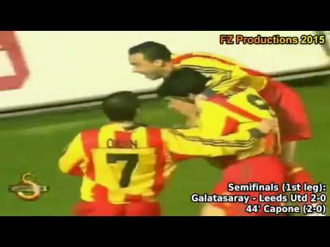 1999-2000 Uefa Cup: Galatasaray SK All Goals (Road to Victory)