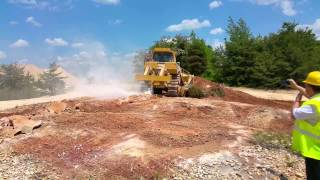 D8T Ripping Hard Material in Alabama