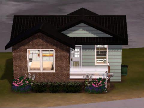 Sims 3 Tiny House Build 3 Starter House Youtube