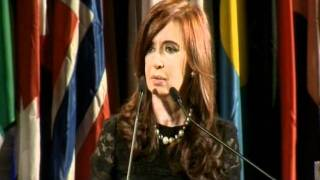 14 de SEP. Premio Unesco Abuelas de Plaza de Mayo. Cristina Fernández. Visita Oficial a Francia.