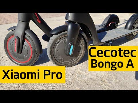 Xiaomi M365 PRO vs Cecotec BONGO Serie A - Comparativa MEJOR PATINETE ELÉCTRICO 2020
