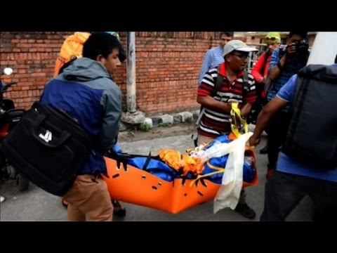 Body of Swiss climber Ueli Steck arrives in Kathmandu