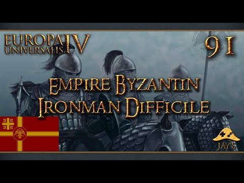 [FR] Europa Universalis IV : The Cossacks - L'Empire Byzantin - Ironman Difficile - 91