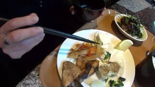 Breakfast at the Washington Hotel Annex in Tokyo