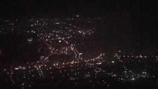 2009.9 函館山ロープウェイ往復からの眺めです。さて山頂からの眺めは?...
