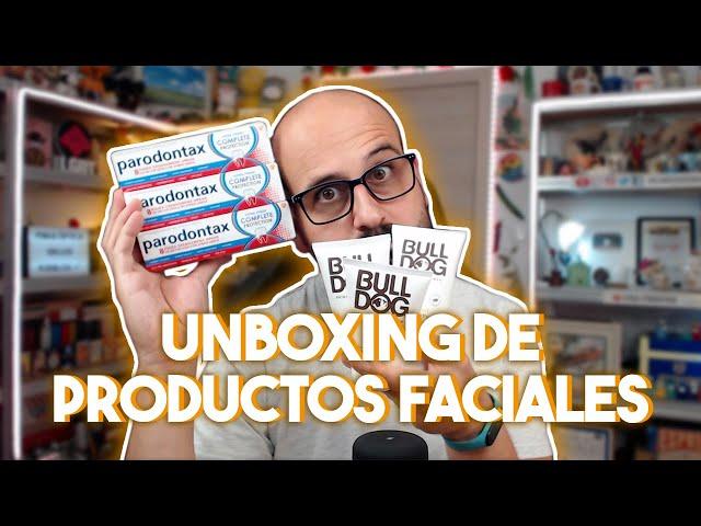 🛒 UNBOXING DE PRODUCTOS FACIALES | La subred de Mario