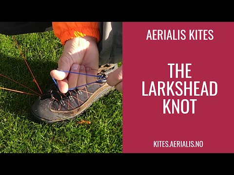 How To: The Larkshead Knot