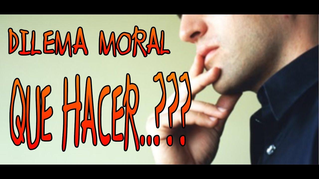 Resultado de imagen para los dilemas morales