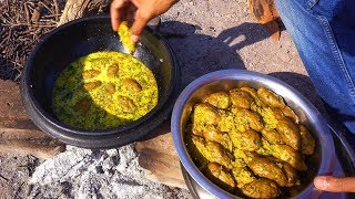 Dhokla Recipe | Indian village cooking | Traditional Gujarati Food