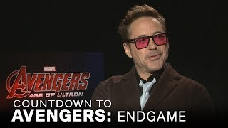 Robert Downey Jr. Explains Why He Doesn't 'Feel' Like 'Iron Man' | Extended
