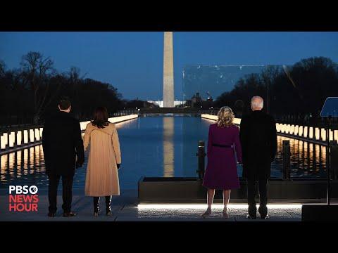 WATCH: Biden, Harris speak at memorial to COVID-19 victims ahead of inauguration