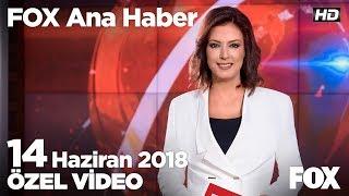 İnce köy evinde yorgunluk attı... 14 Haziran 2018 FOX Ana Haber