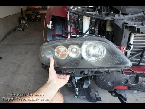 hqdefault mazda 6 headlight removal and replacement youtube  at crackthecode.co