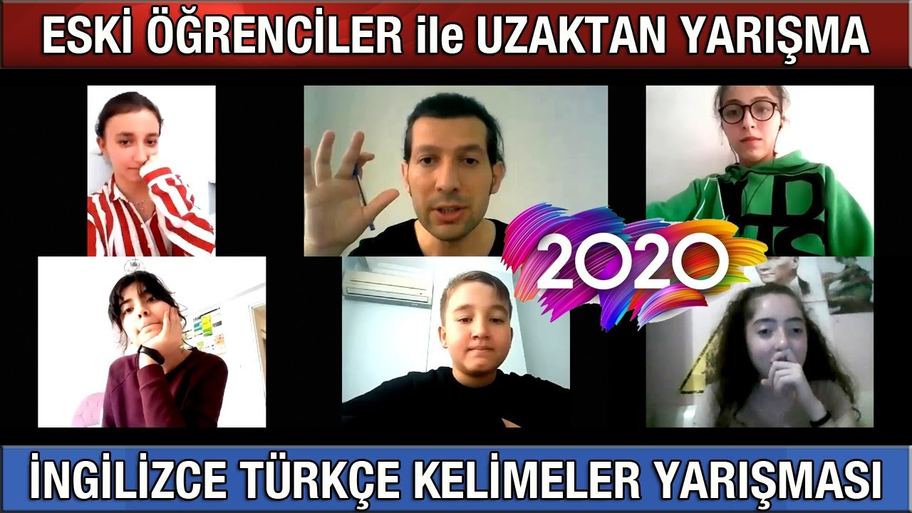 Download ESKİ ÖĞRENCİLER - İngilizce Türkçe Kelimeler Yarışması