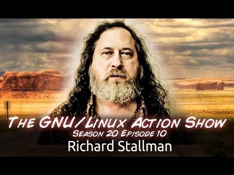 Richard Stallman | GNU/LAS | s20e10