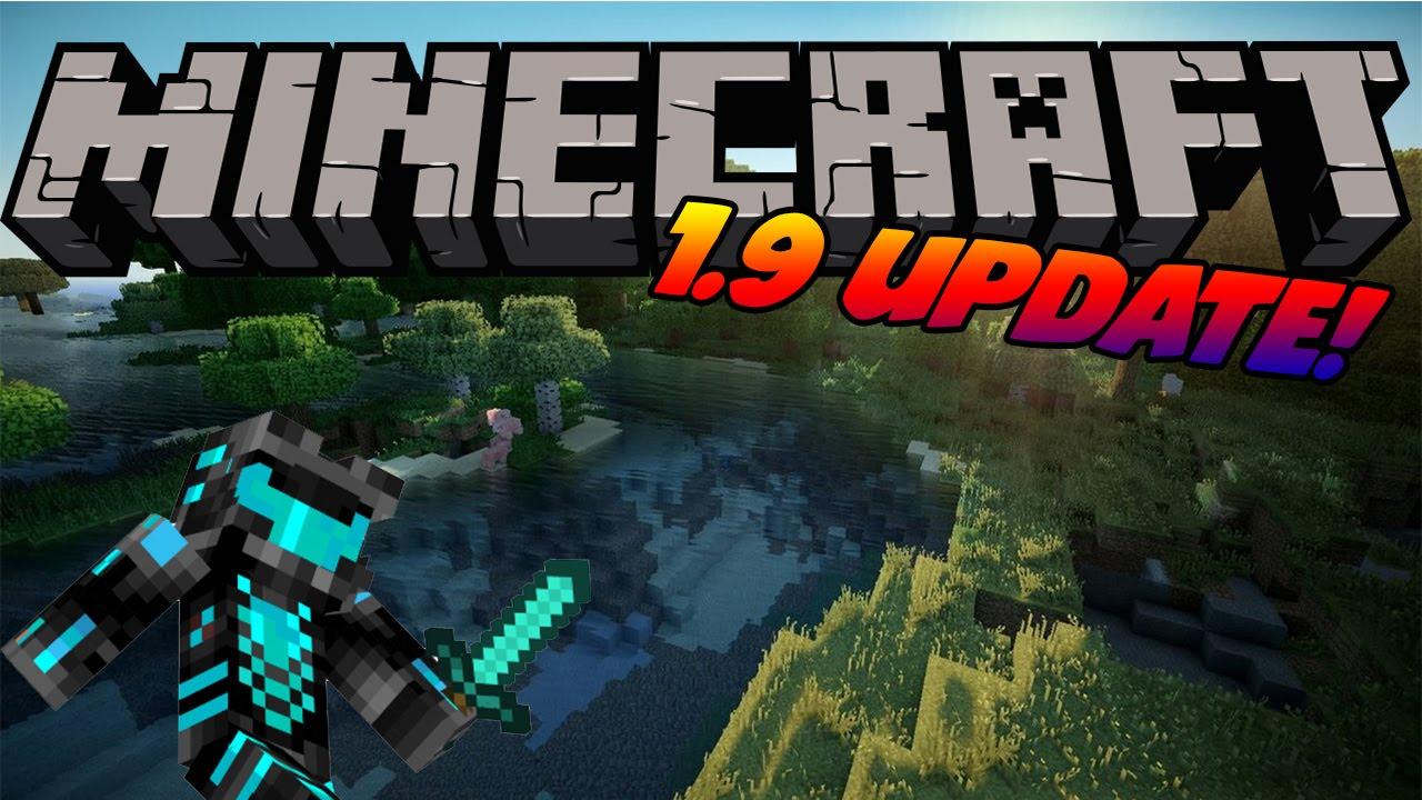 Minecraft 1.9 UPDATE! 2016 - YouTube