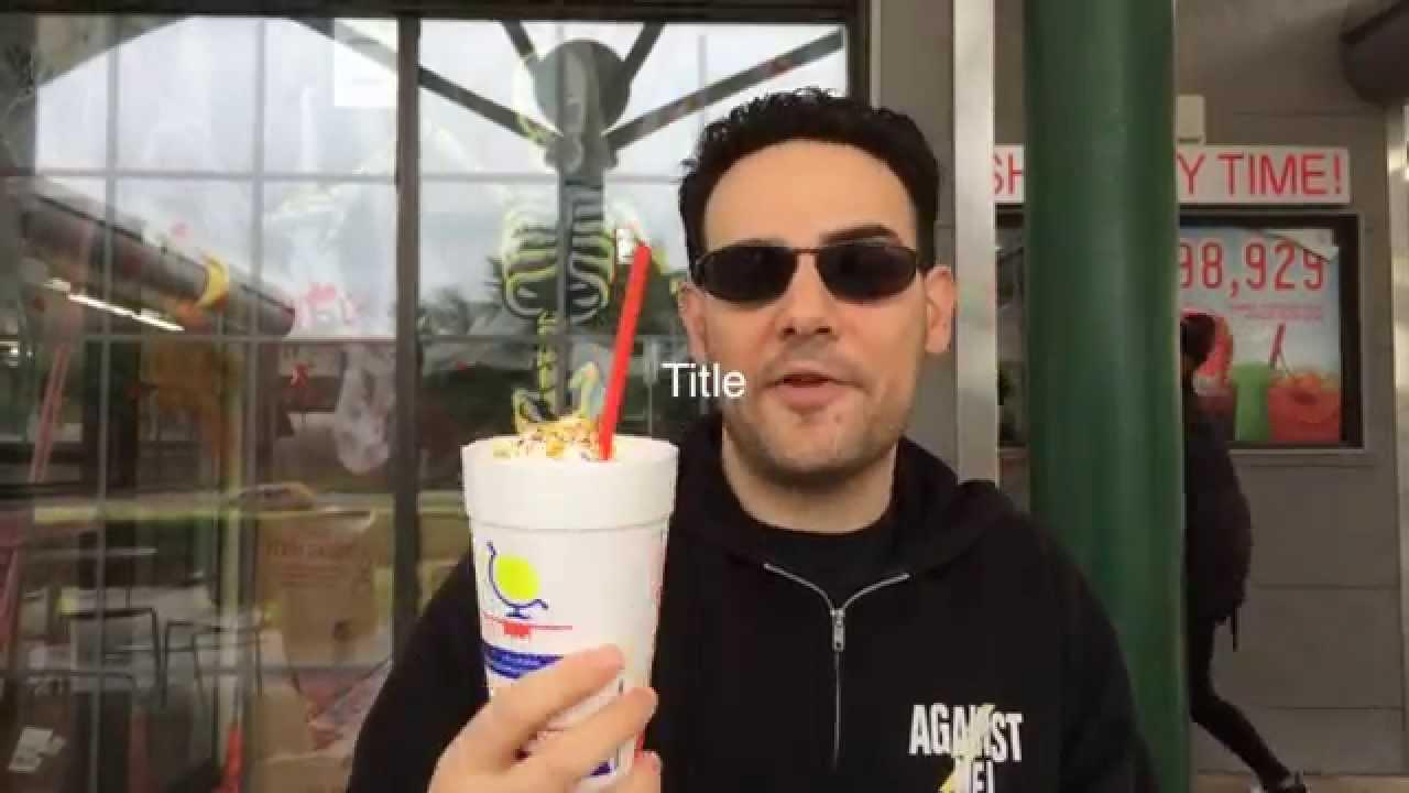 Ice Cream Review Sonics Birthday Cake Milkshake