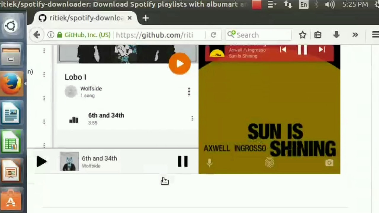 Download songs from Spotify using Linux