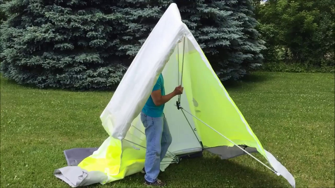 How To Set Up A POPu0027Nu0027WORK Tent & How To Set Up A POPu0027Nu0027WORK Tent - YouTube
