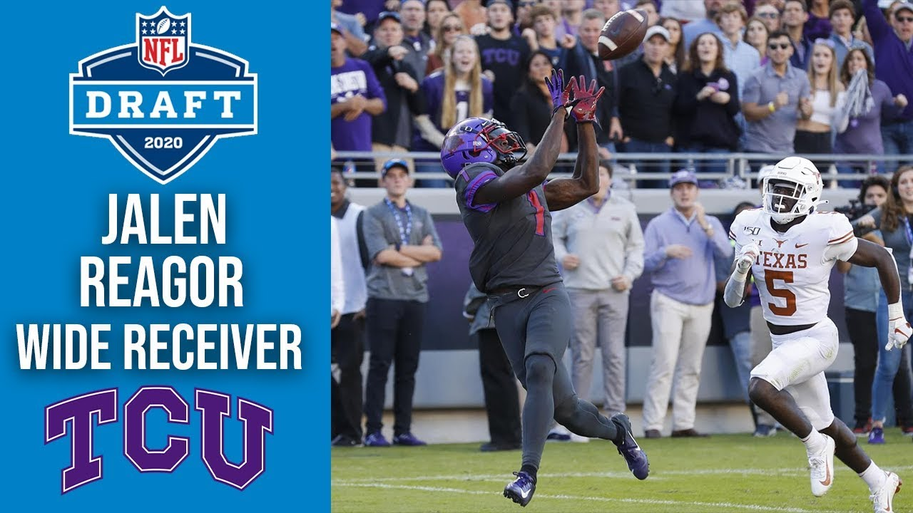 Jalen Reagor: 'I'm just the most versatile' receiver in this draft