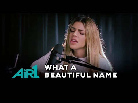 Hillsong Worship What A Beautiful Name  at Air1 Radio