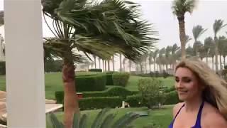 Ірина Федишин - піщана буря в Єгипті (відео цього природного явища)