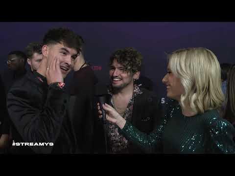 JC Caylen & Kian Lawley Red Carpet Interview I Streamy Awards 2019