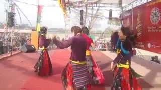 SONAM LOSAR, Tamang Dance, Kathmandu(उभोउभो लाग्यो भेडीको बथान)