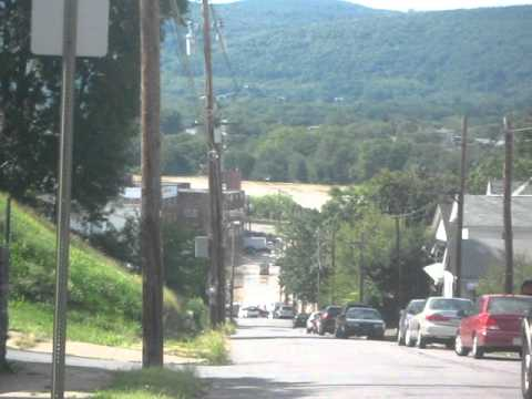 Pittston City Streets Flood Early Afternoon